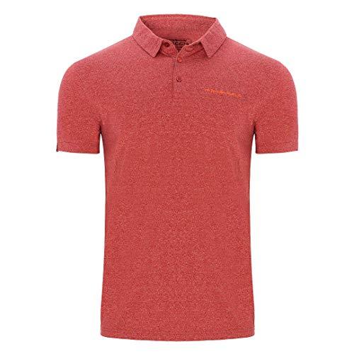 TRANGOWORLD Polo FINU Camiseta, Rojo Ketchup, M Hombre