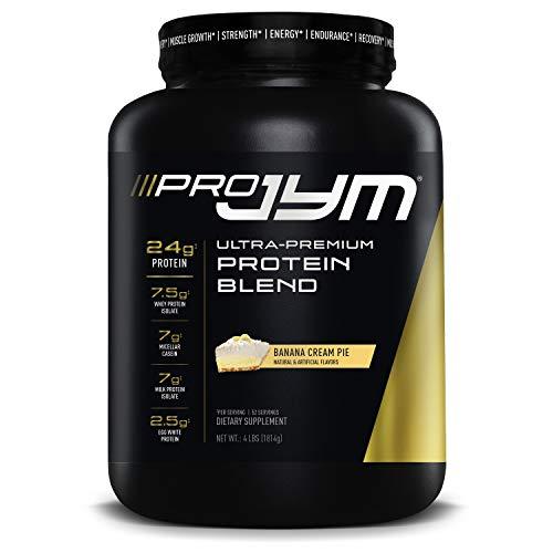 Pro Jym Protein Powder - Egg White, Milk, Whey protein isolates & Micellar Casein | JYM Supplement Science | Banana Cream Pie Flavor, 4 Lb