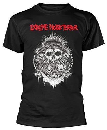 Extreme Noise Terror 'Logo' (Black) T-Shirt (xx-Large)