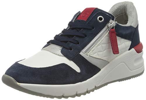 Tamaris 1-1-23702-26, Zapatillas Mujer, White Navy Com, 38 EU