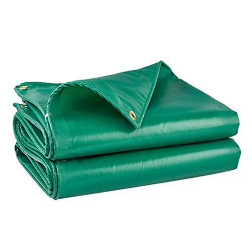 Telo di Protezione Telone Spessa Ombra Esterna Protezione Solare Poncho Resistente alle Alte Temperature Tela Linoleum Panno Isolante (Size : 3 * 4m)