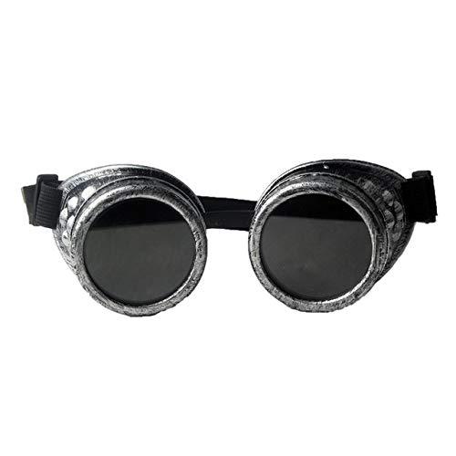 WOOLIY Heavy Metal Steampunk Gafas De Estilo Gótico Gafas De Soldador Gafas De Protección Laboral De Soldadura