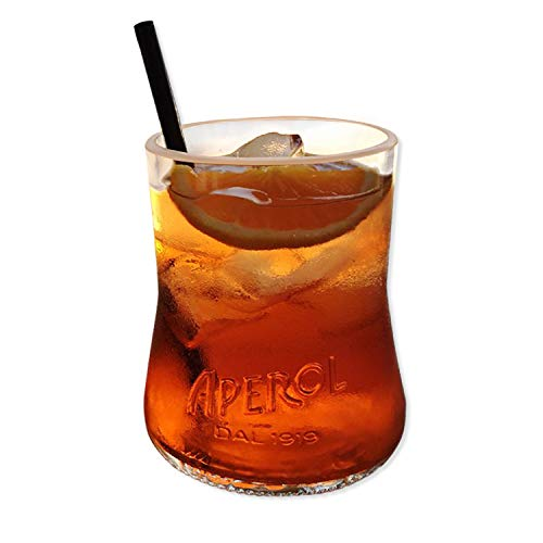 Glass MaDe Aperol Spritz - Par de Copas de cóctel de 400 ml Hecho a Mano