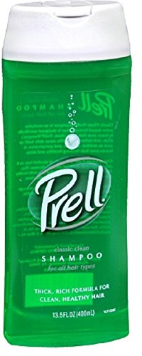 Prell Shampoo, Classic Clean 13.50 oz (Pack of 7)