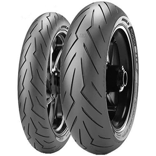 Pirelli 81376 Neumático Diablo Rosso Scooter 120/80 -12 55P para Moto, Verano