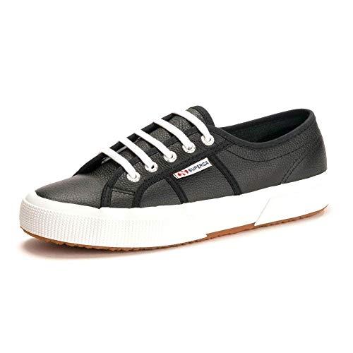 SUPERGA 2750-cotu Classic Sneaker, Scarpe da Ginnastica Unisex, Nero (Black 999), 41 EU