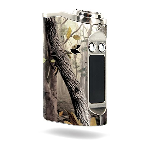 MightySkins Skin Compatible with Tesla Nano 60W TC – Tree Camo   Protective, Durable, and Unique Vinyl Decal wrap Cover   Easy to Apply, Remove, and Change Styles   Made in The USA
