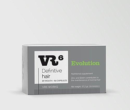 VR6 Definitive Hair Evolution Suplemento Nutricional - 60 C�