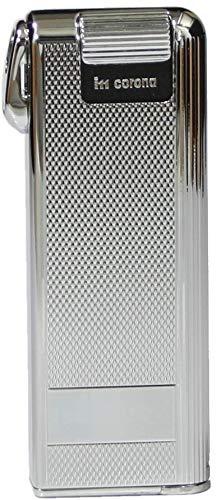 IM Corona Pipemaster Pfeifen Feuerzeug Piezo Klassiker Barley Design Edelstahl Made in Japan Pfeife