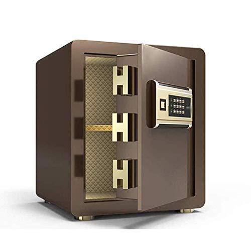 YLJYJ Safe, Electronic Safe kann repariert Werden, um mehrfarbige -36x31x40cm Insurance Box Security Safebox (Farbe: Gold) zu installieren