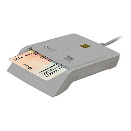 WOXTER elektronischer Speicherkartenleser und Ausweisleser weiß
