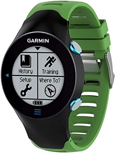 Gransho Correa de Reloj Compatible con Garmin Forerunner 610, Silicona Banda de Reemplazo Pulsera (Pattern 6)