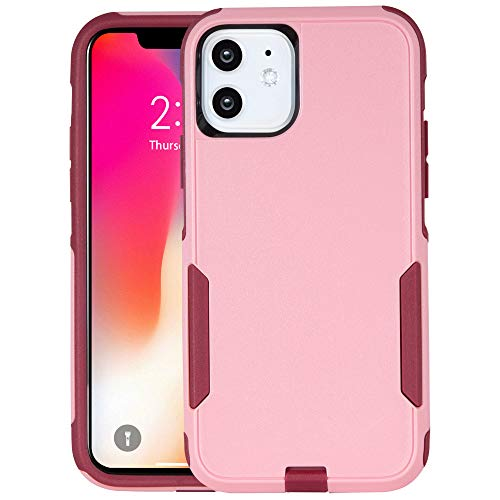 Krichit Pioneer iPhone 11 Case,Pioneer Heavy Duty Case for iPhone 11 Cases 6.1 inch(2019) (Pink)