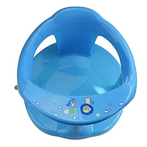 CXJC Silla de bañera para niños con ventosa fija para evitar deslizamientos comodidad asiento de apoyo niños taburete de seguridad soporte de seguridad