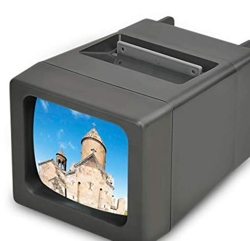 Medalight Portable 35mm LED Slide Viewer,2 X Magnification