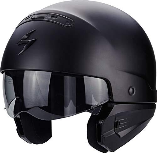 Scorpion Motorradhelm Exo Combat, Schwarz, Größe M - 3