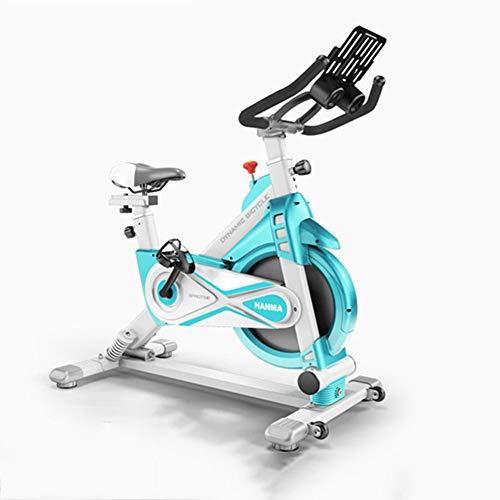 JKJ Oscillante Moto Indoor Cycling, Silenzioso Esercizio Cintura di Moto, con iPad e Basamento del Telefono Mobile, Assorbimento degli Urti Primavera, Manici Regolabili e la sede,B