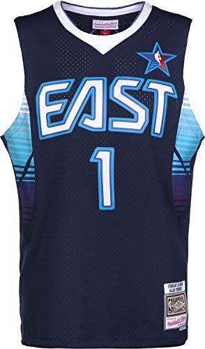 Mitchell & Ness All Star East 2009 A. Iverson Camiseta Navy