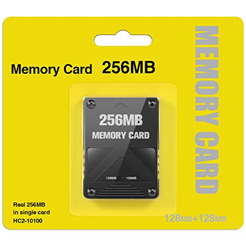 CIPON PS2 Memory Card 256MB High Speed for Sony Playstation 2 Games