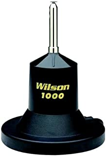 Wilson 1000 Series 3000 Watt Magnetic Mount CB Antenna with 62 1/2 inch Removable Whip