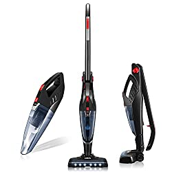 Deik Vacuum Cleaner, 2 in 1 Cordless, Candidate for the best stick vacuum for pet hair on hardwood floors