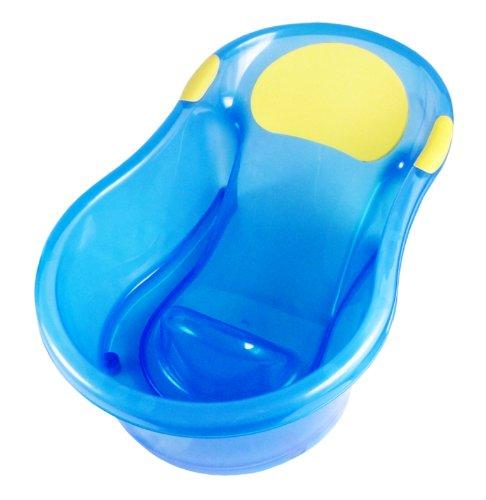 永和 新生児用ベビーバス アクアブルー お風呂でもキッチンのシンクでも使えるバスタブ