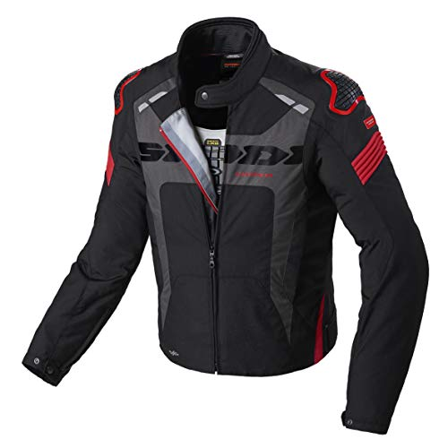 SPIDI D206-021- M Warrior H2Out chaqueta, negro/rojo