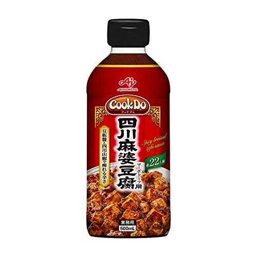 味の素【「Cook DoR」四川麻婆豆腐用500mlボトル×6×2】