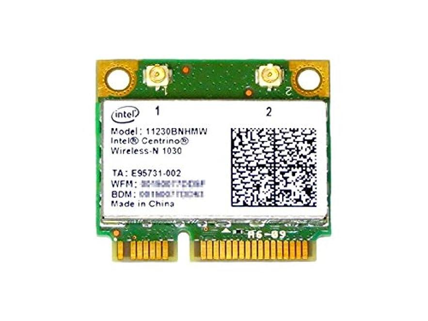 生理ファンタジー飢えたインテル Intel Centrino Wireless-N 1030 Single Band 802.11b/g/n 300Mbps + Bluetooth 3.0 PCIe Mini half 無線LANカード 11230BNHMW
