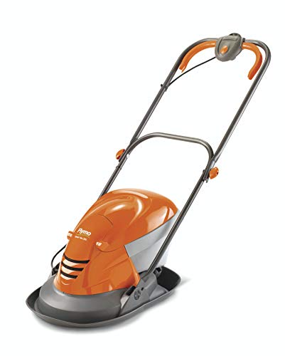 Flymo Hover Vac 250 Electric Hover Collect Lawn Mower - 1400W, 25cm Cutting Width, 15L Grass Box, Ambidextrous Handles, Folds Flat