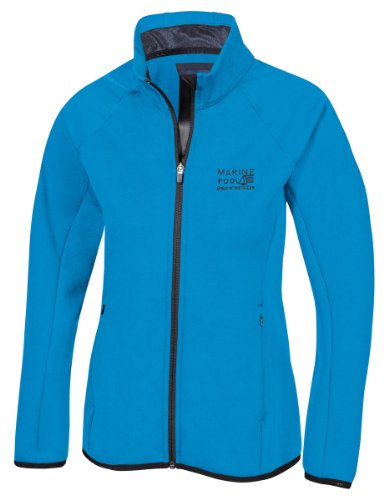 Marinepool Damen Jacke B3 Midlayer Fleece Jacket Women, Ocean Blue, M, 5000444-506-180