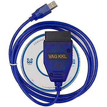 ECU Scan OBD OBD2 Diagnostic Scanner Tool for Cars HW VAG KKL USB 409