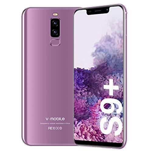 Smartphone Oferta del día 3GB RAM 16GB ROM 5.84 pulgadas HD Android 8.1 13MP+5MP Cámara 3800 mAh Batería Móvil Ofertas 4G Dual Sim Face Unlock VMobile S9 Plus