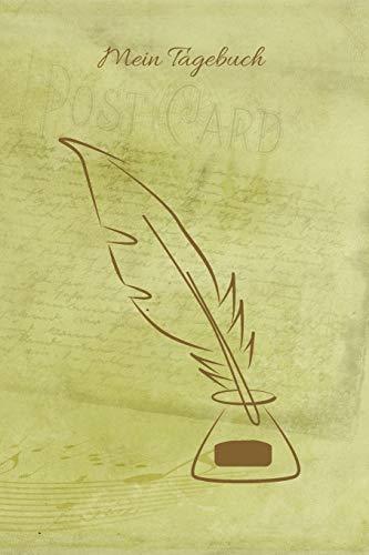 Mein Tagebuch: Journal - Insgesamt 135 Seiten - Blanko - Mattes Cover - Maße ca. DIN A5
