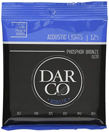 Darco D 220 Phosphor Bronze, Light, 012054