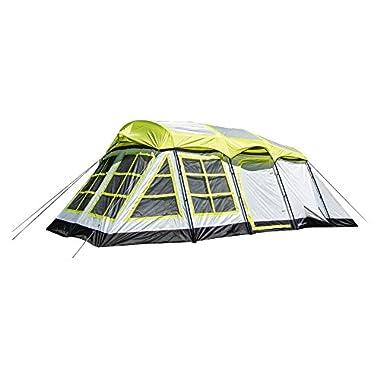Tahoe Gear Glacier 14 Person 3-Season Family Cabin Camping Tent