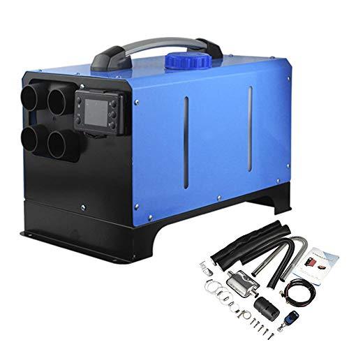 Findema Calefacción de aire diésel de 5 kW, 12 V y 24 V, con mando a distancia, canal de escape para caravana, camión, barco o coche