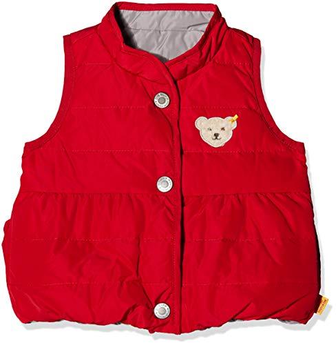 Steiff Steiff Baby-Mädchen o. Arm wendbar Weste, Rot (Jester red|red 2120), 74