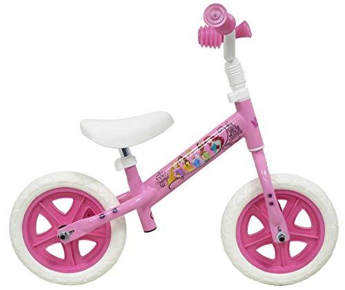 "Draisienne - Bicicleta Infantil de 10"" con Licencia de Princess, neumáticos pinchables"