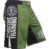 Hardcore Training Recruit Fight Shorts Uomo Pantaloncini da Combattimento Arti Marziali MMA BJJ Boxe Muay Thai Grappling Fitness No Gi