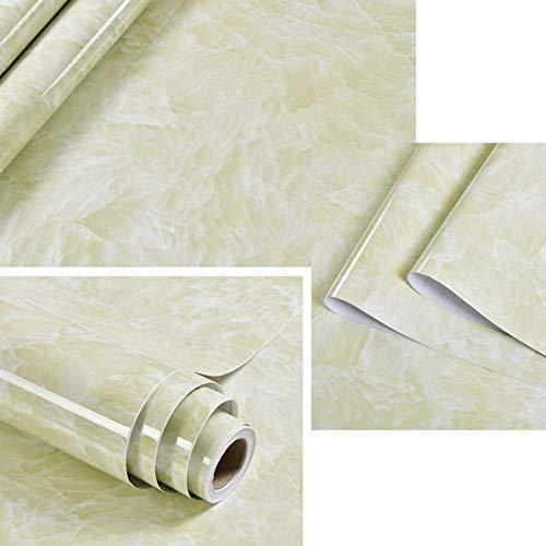Rollo de papel tapiz de vinilo de mármol autoadhesivo para muebles, película decorativa, pegatinas de pared impermeables, protector contra salpicaduras de cocina, decoración del hogar, 3mx40cm DL-031