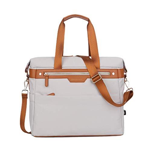 Nordace HINZ - Innovative Einkaufstasche für Reise & Arbeit (Beige)