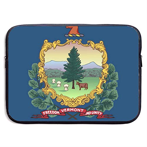 Vermont Laptop Sleeve Shoulder Bag, Protective Carrying Case 15 Inch Slim Sleeve