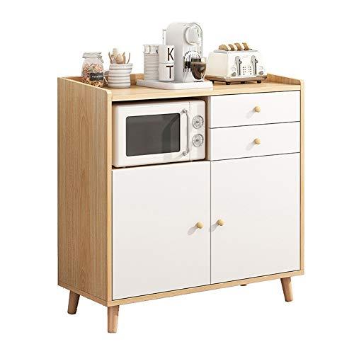KCCCC Sideboard-Kabinett Büffet-Sideboard-Küche Essgänger-Eingabebahnhalle-Speicherkabinett Esszimmer (Color : Wood,...