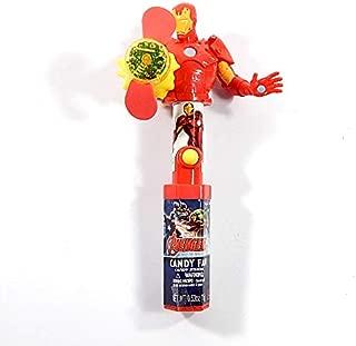 Marvel Avengers Iron Man Light Up Candy Fan