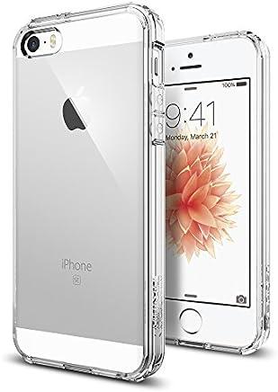 Spigen Coque iPhone 5S / 5 / Se, [Ultra Transparente Silicone en Gel ] Coque Original Housse Etui Anti-Choc pour 5S / 5 / Se (SGP10640)