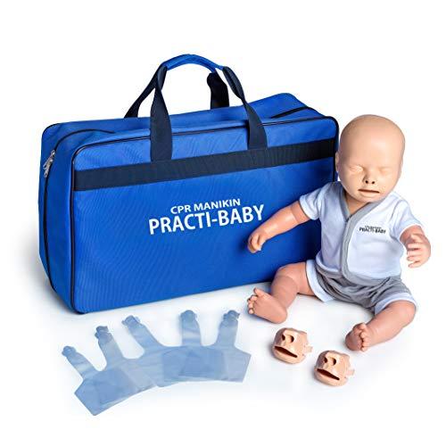 MedX5 BABY HLW Übungspuppe für Wiederbelebung, Trainingspuppe für Erste Hilfe Training, Reanimationspuppe, Wiederbelebungspuppe für Kleinkinder