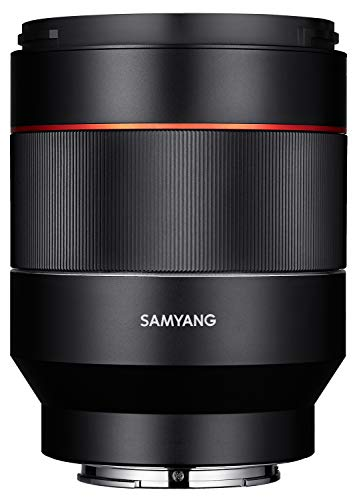 Samyang 50/1,4 Objektiv DSLR Autofokus Sony E Vollformat Fotoobjektiv Lichstärke F1.4, Porträtobjektiv NiftyFifty Objektiv schwarz