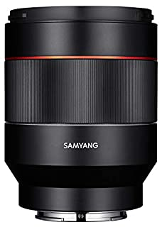 Samyang SAMAF50SONY - Objetivo AF 50mm F1.4 Sony FE, Color Negro (B01I7FI556) | Amazon price tracker / tracking, Amazon price history charts, Amazon price watches, Amazon price drop alerts