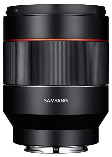 Samyang SYA5SE Lente 50 mm AF F1.4 per Sony E, Nero